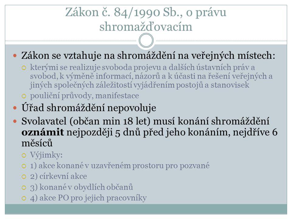 Utajované informace Zákon č.148/1998 Sb. (do té doby platný zákon z roku 1971!) Zákon č.