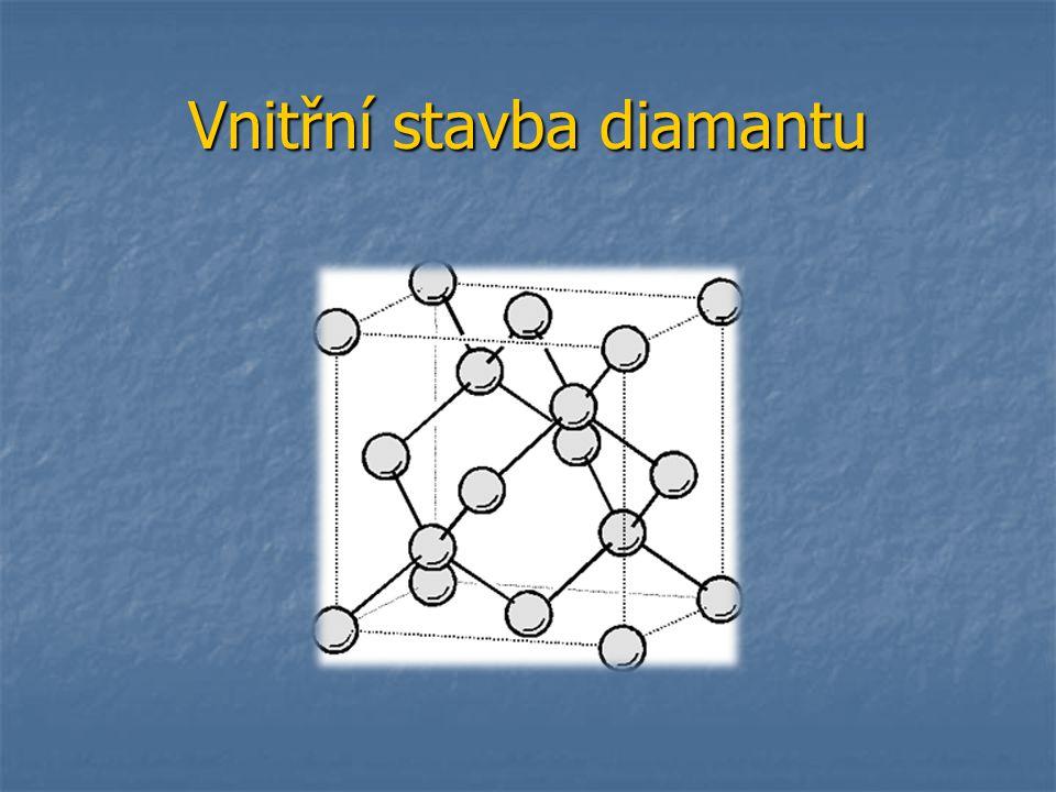 Vnitřní stavba diamantu