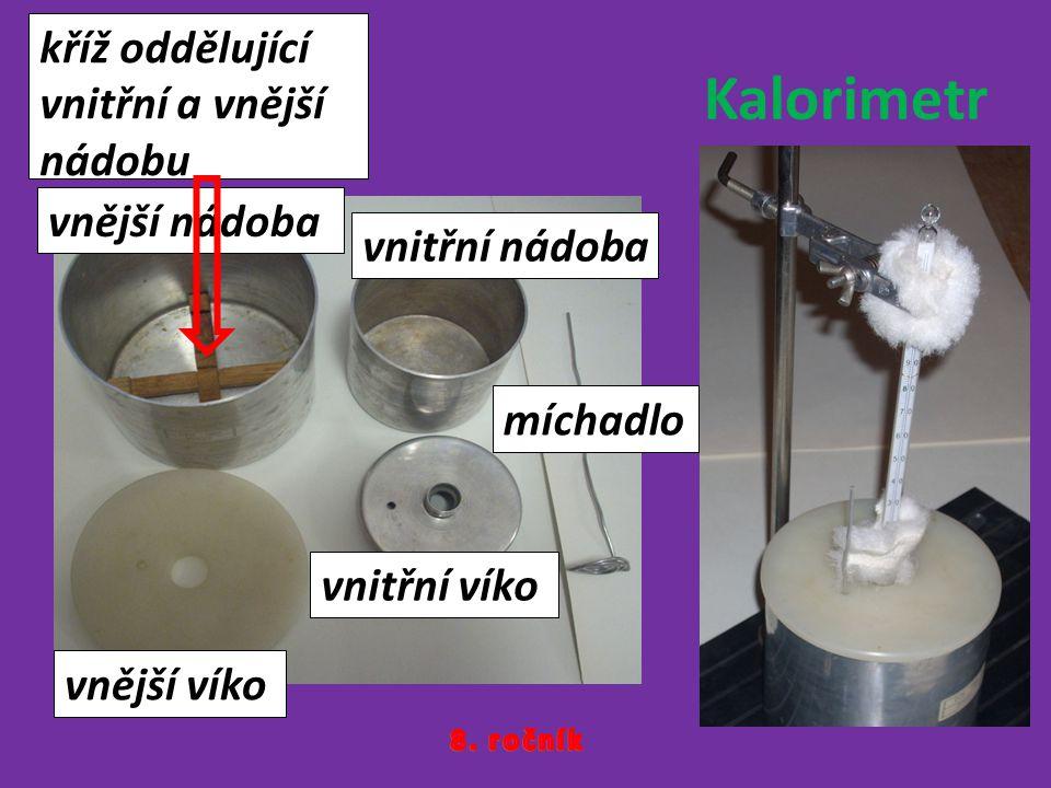 vnější nádoba vnitřní nádoba vnější víko vnitřní víko míchadlo kříž oddělující vnitřní a vnější nádobu