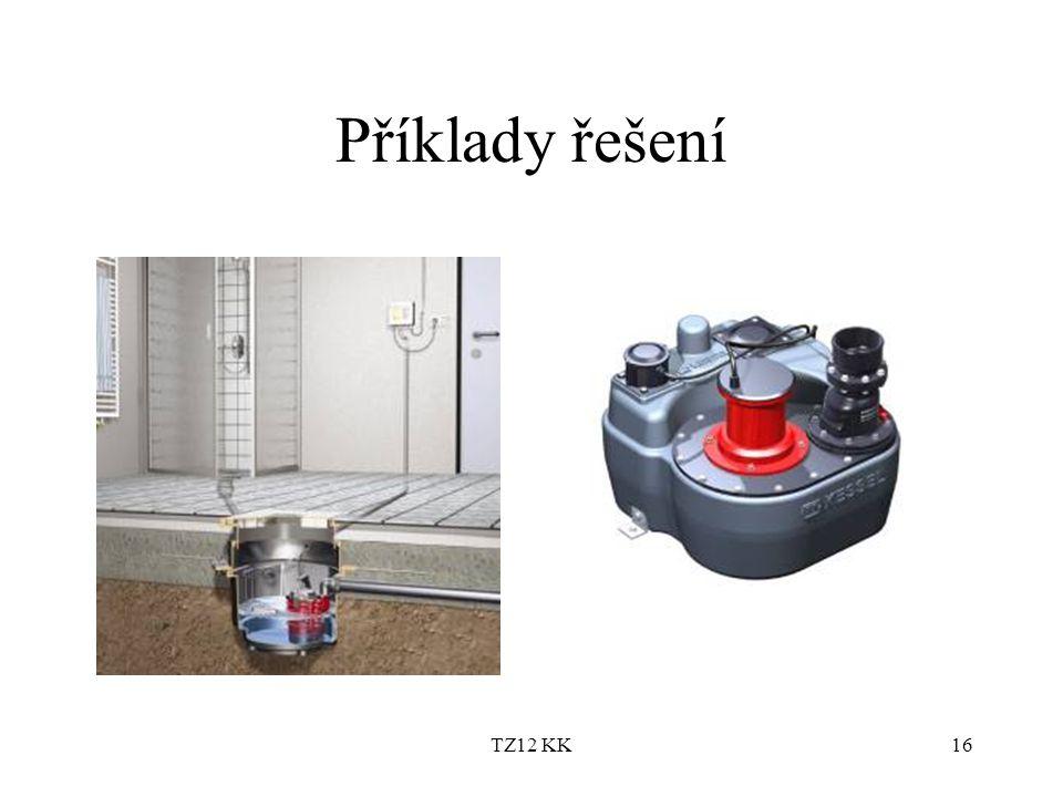 TZ12 KK16 Příklady řešení