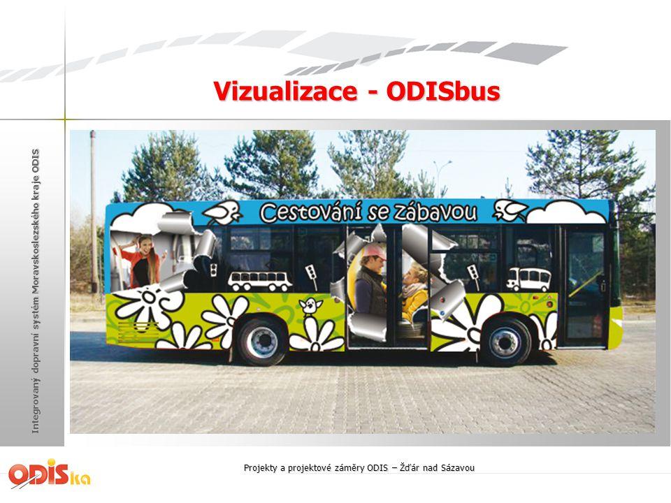 Integrovaný dopravní systém Moravskoslezského kraje ODIS Vizualizace - ODISbus Projekty a projektové záměry ODIS – Žďár nad Sázavou