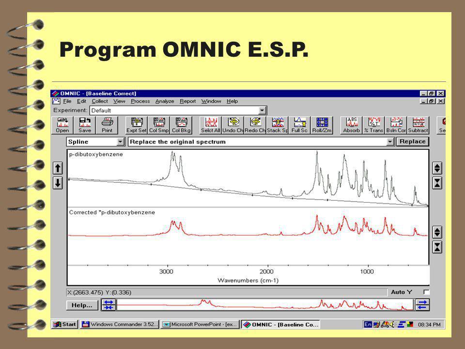 Program OMNIC E.S.P.