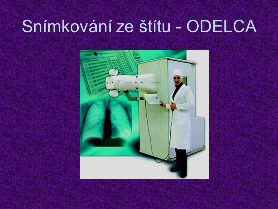 Snímkování ze štítu - ODELCA