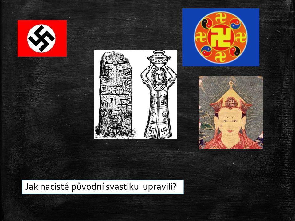 Jak nacisté původní svastiku upravili?
