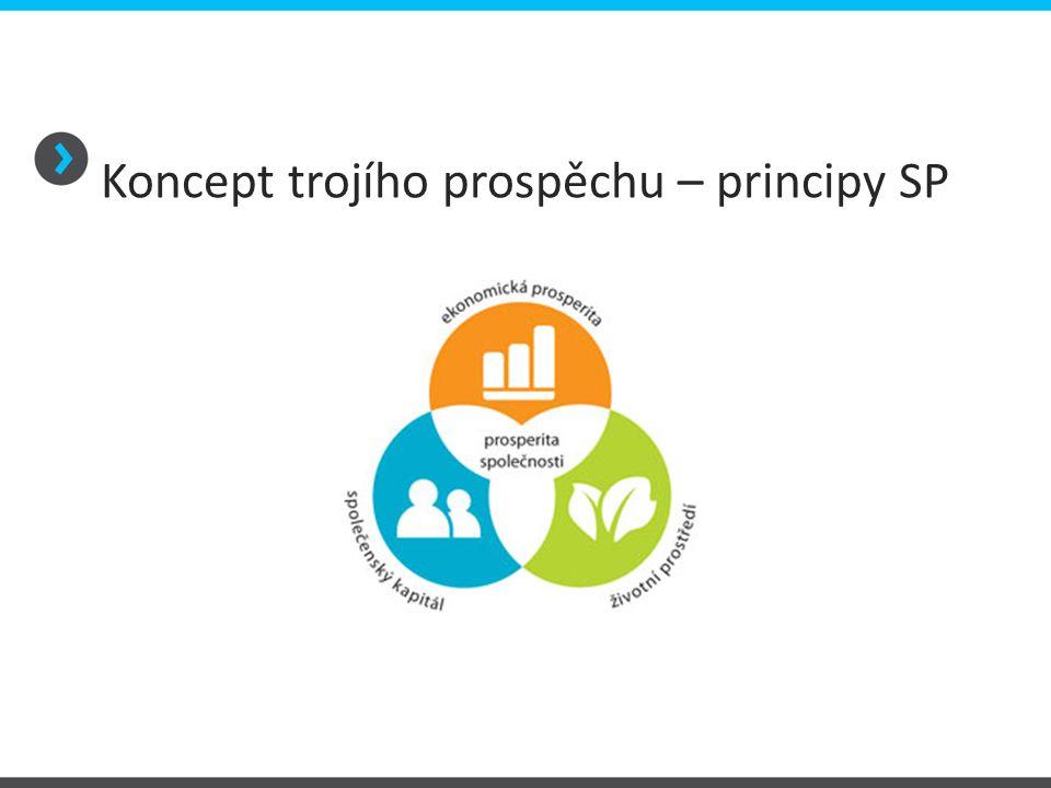 Koncept trojího prospěchu – principy SP