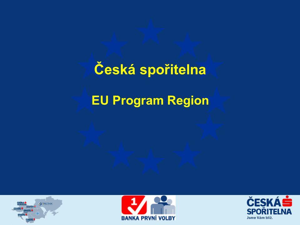 Česká spořitelna EU Program Region