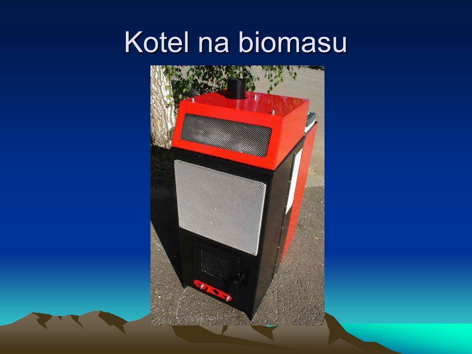 Kotel na biomasu