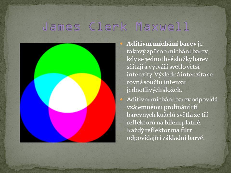 Aditivní míchání barev je takový způsob míchání barev, kdy se jednotlivé složky barev sčítají a vytváří světlo větší intenzity.