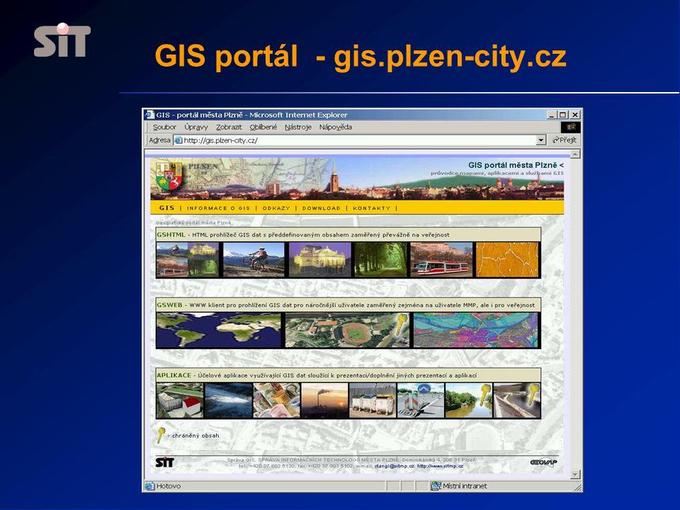 GIS portál - gis.plzen-city.cz