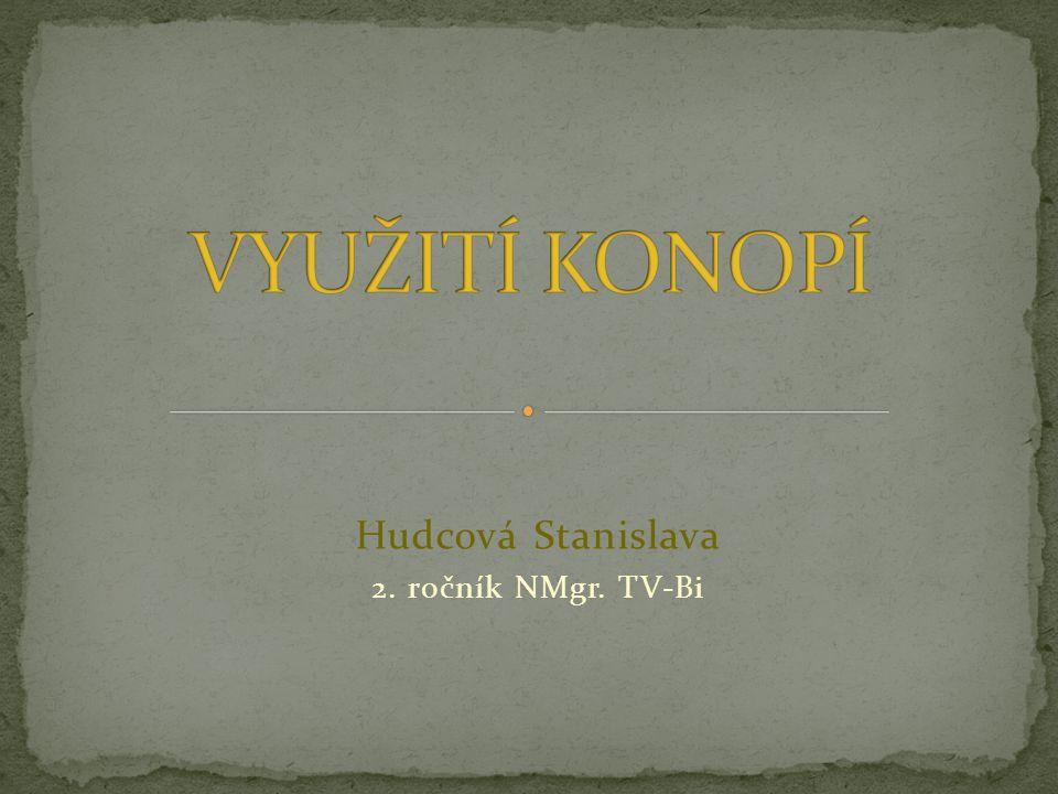 Hudcová Stanislava 2. ročník NMgr. TV-Bi