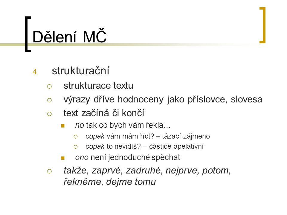 Dělení MČ 4.