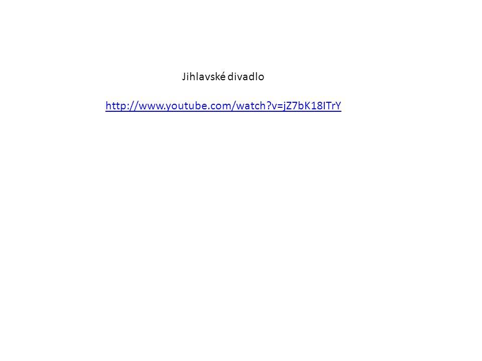 Jihlavské divadlo http://www.youtube.com/watch?v=jZ7bK18ITrY