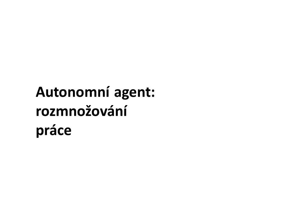 Autonomní agent je fyzikální systém, který je – podobně jako ta bakterie – schopen v jistém prostředí konat ve vlastním zájmu.