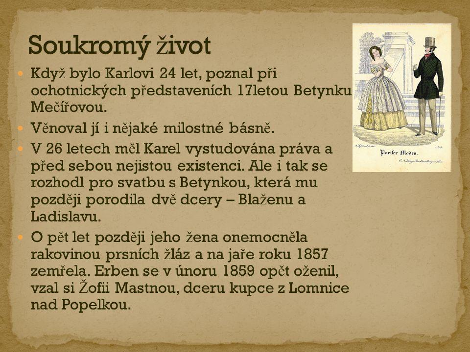 Roku 1848 se stal redaktorem Pra ž ských novin; této funkce se vzdal po vydání ústavy (b ř ezen 1849).