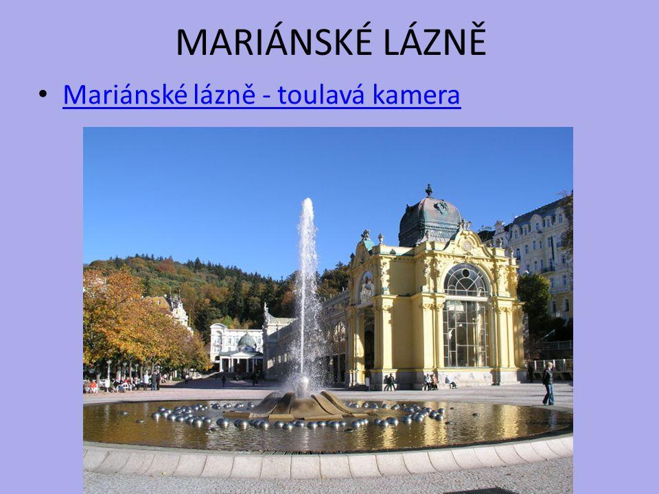 MARIÁNSKÉ LÁZNĚ Mariánské lázně - toulavá kamera