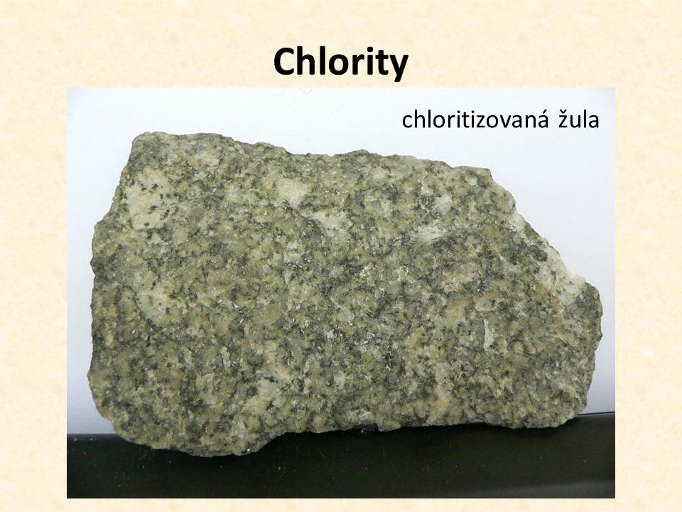 chloritizovaná žula