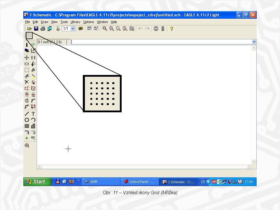 Obr. 11 – Vzhled ikony Grid (Mřížka)