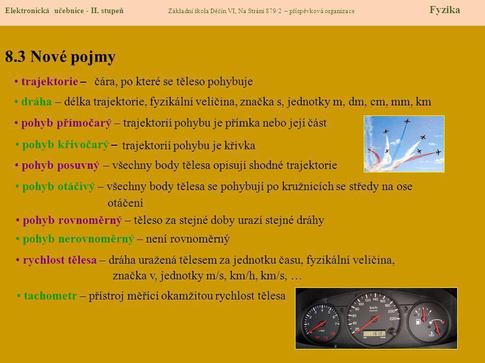8.4 Výklad nového učiva Elektronická učebnice - II.