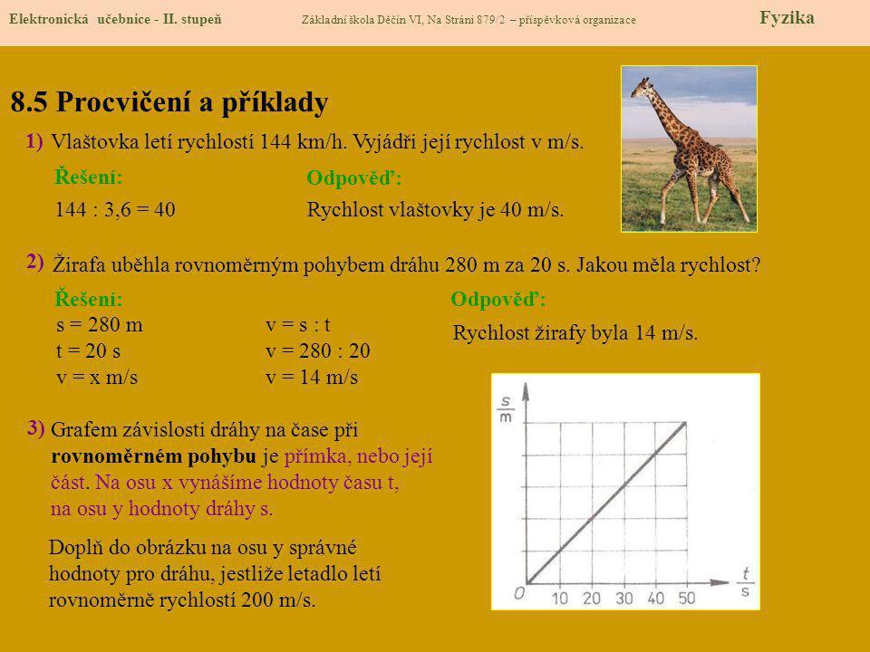 8.6 Něco navíc pro šikovné Elektronická učebnice - II.