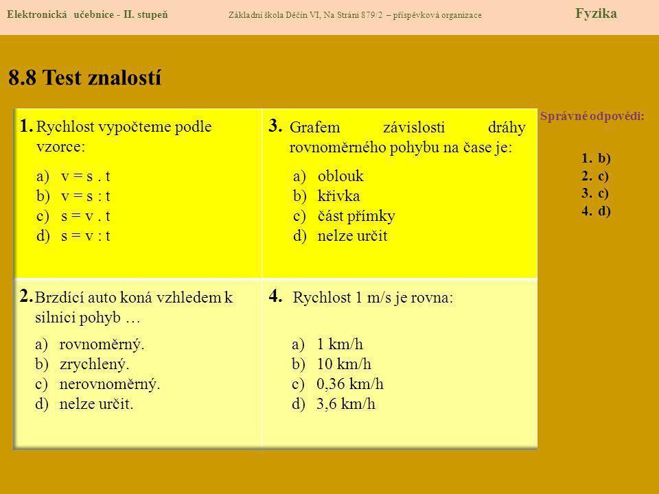 8.9 Použité zdroje, citace Elektronická učebnice - II.