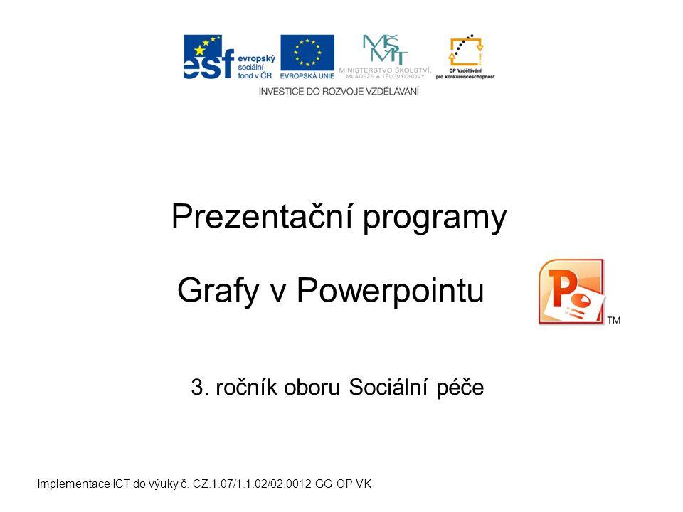 Implementace ICT do výuky č. CZ.1.07/1.1.02/02.0012 GG OP VK Prezentační programy 3.