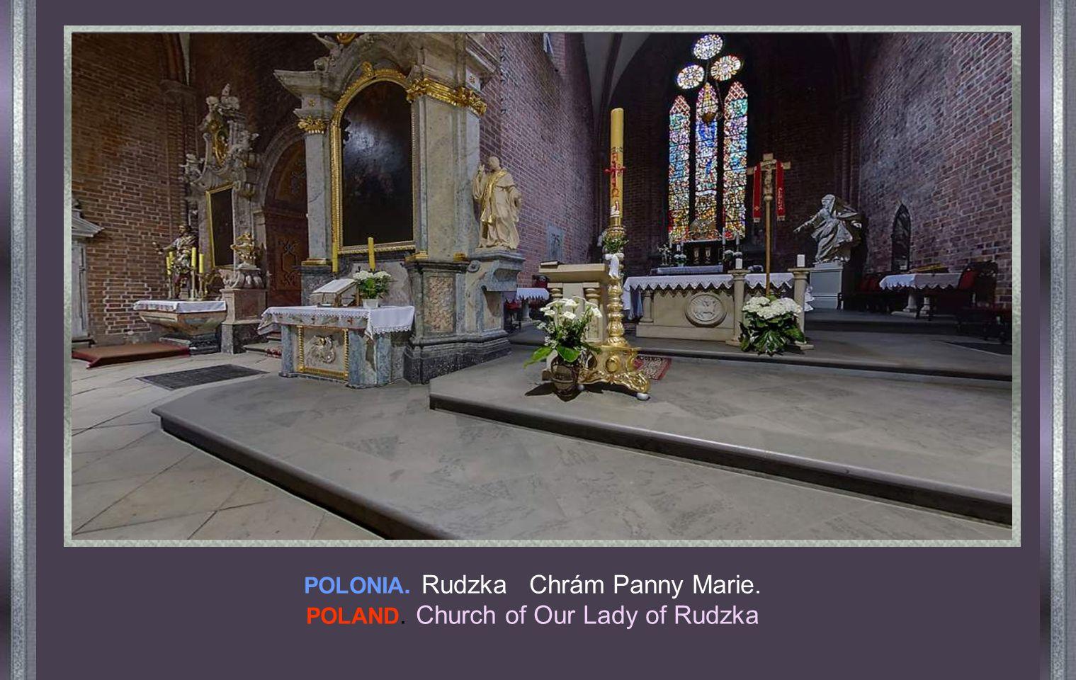POLONIA. Farní kostel sv. Terezie. POLAND. Parish Church of Santa Teresa