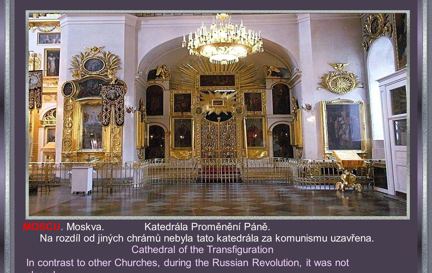 MOSCU. Moskva. Katedrála sv. Ludvíka. MOSCOW. St. Louis Cathedral