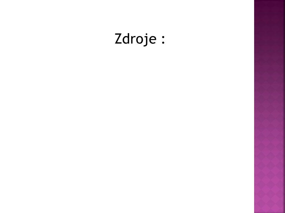 Zdroje :