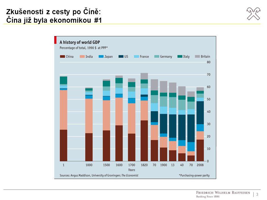 3 Zkušenosti z cesty po Číně: Čína již byla ekonomikou #1