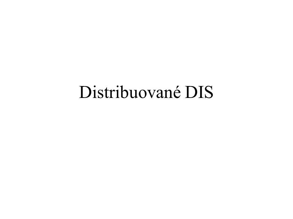 Distribuované DIS