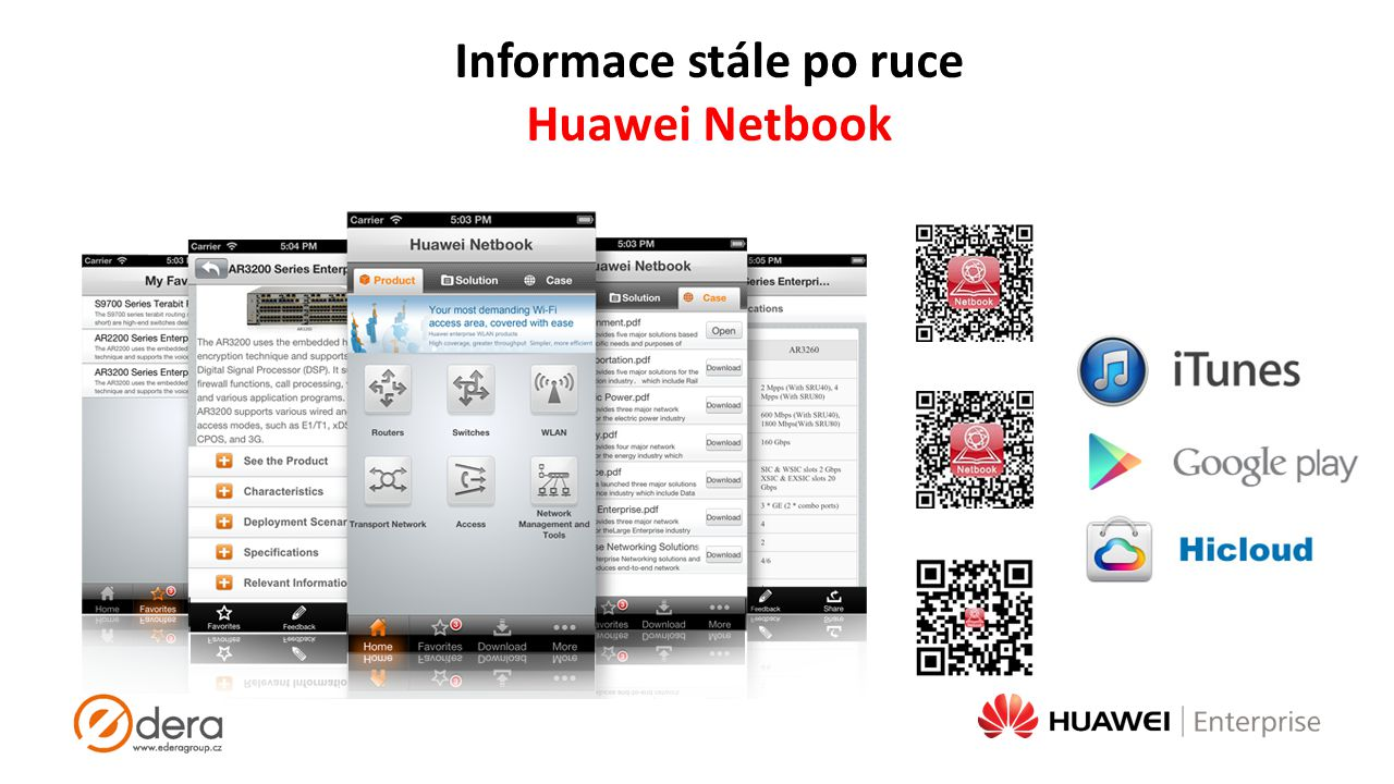 Informace stále po ruce Huawei Netbook