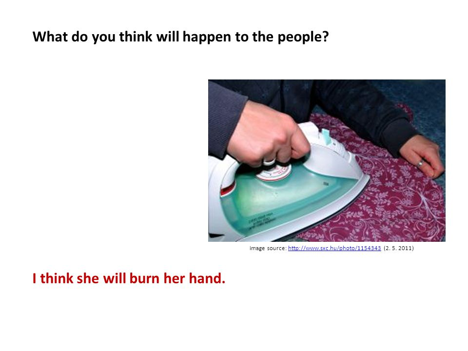 What do you think will happen to the people.image source: http://www.sxc.hu/photo/1075958 (2.