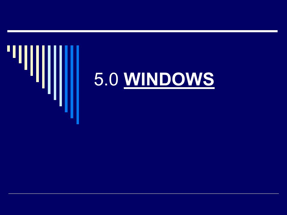 Windows  Je operačním systémem počítače – základním programem, který oživuje počítač.