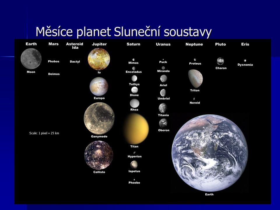 Měsíce planet Sluneční soustavy