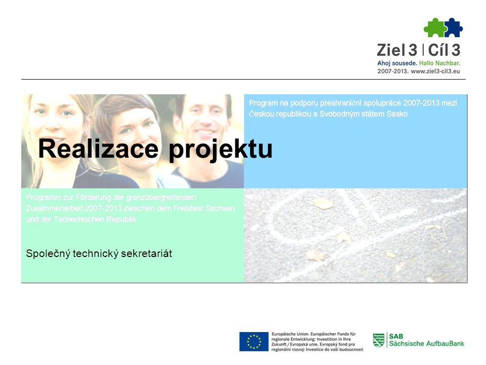 Realizace projektu Společný technický sekretariát