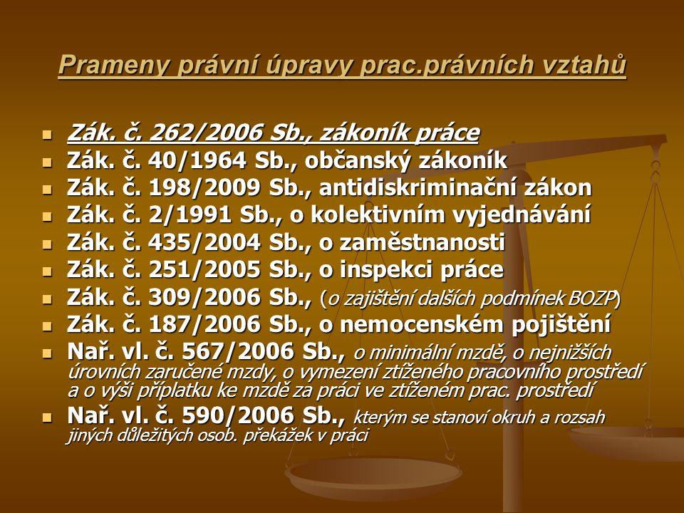 Princip spravedlivé odměny za práci SPRAVEDLIVÁ ODMĚNA ZA PRÁCI – Čl.