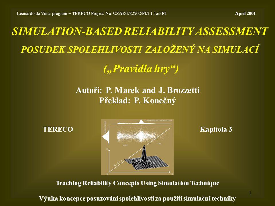 1 Autoři: P.Marek and J. Brozzetti Překlad: P.