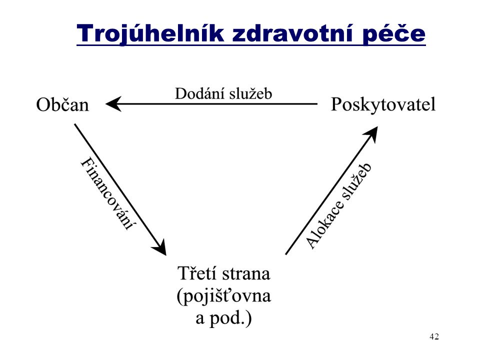 Trojúhelník zdravotní péče 42