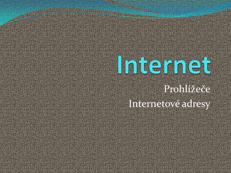 Číselná adresa ( IP adresu např.