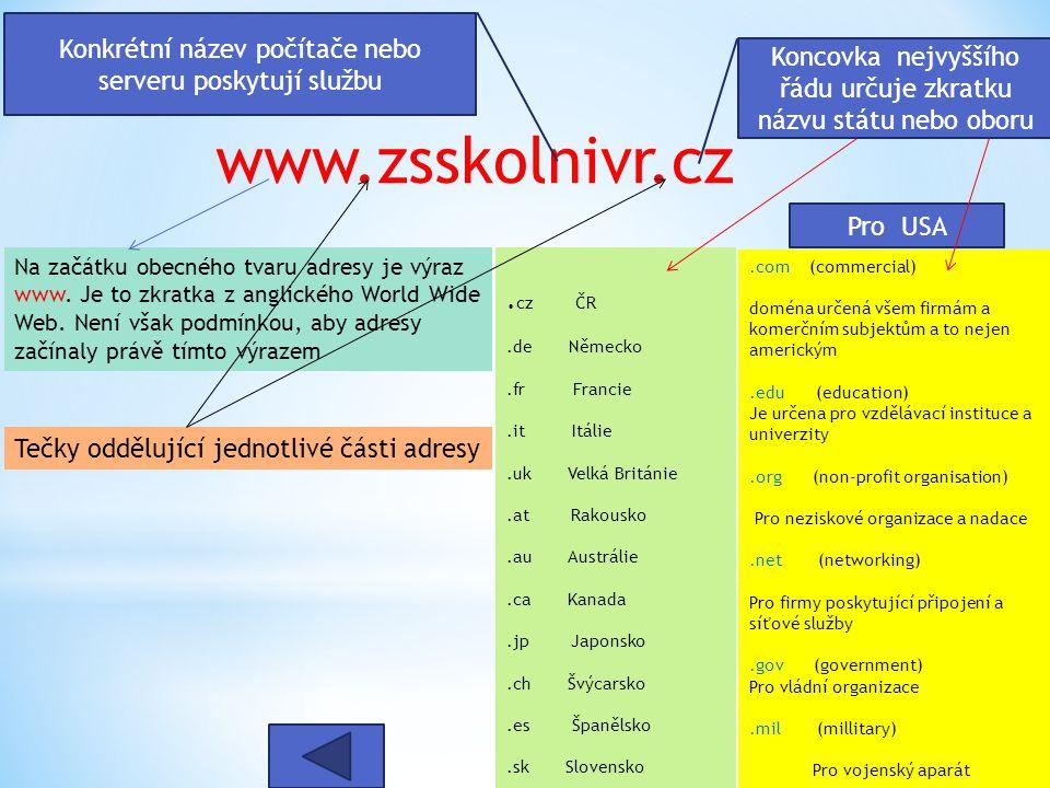 Pro USA www.zsskolnivr.cz.