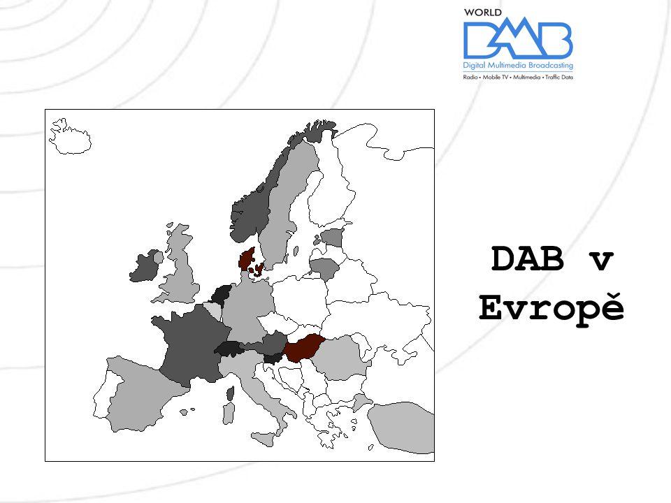 DAB v Evropě
