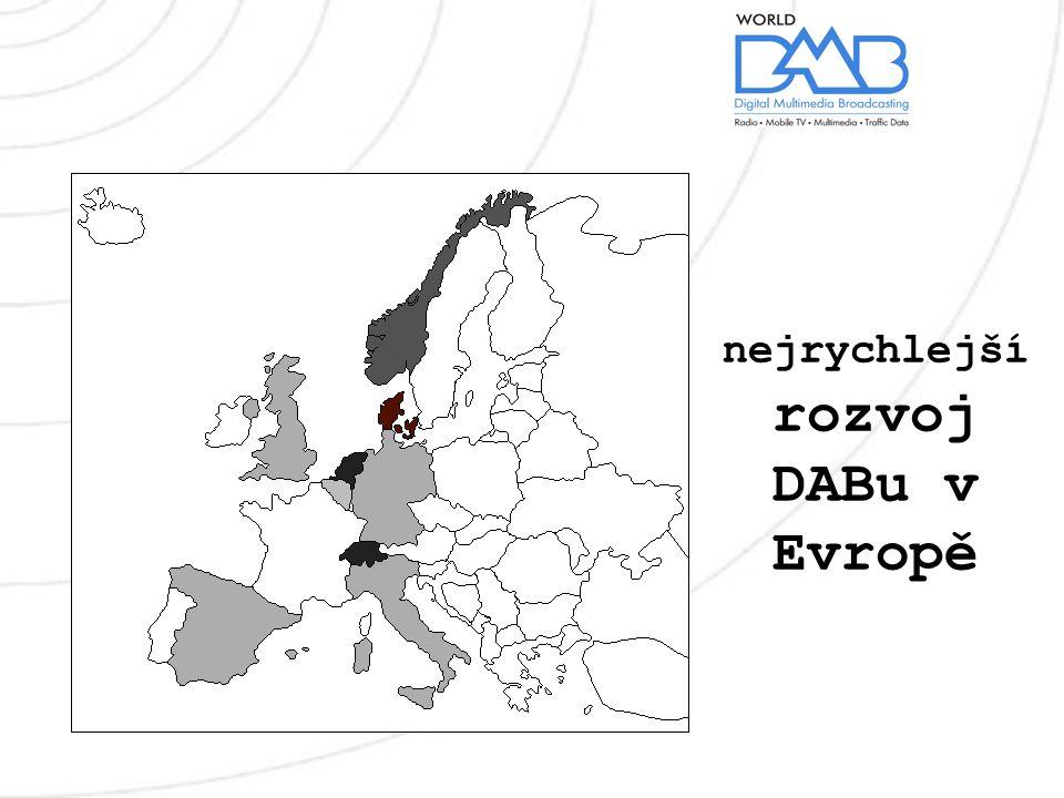 nejrychlejší rozvoj DABu v Evropě