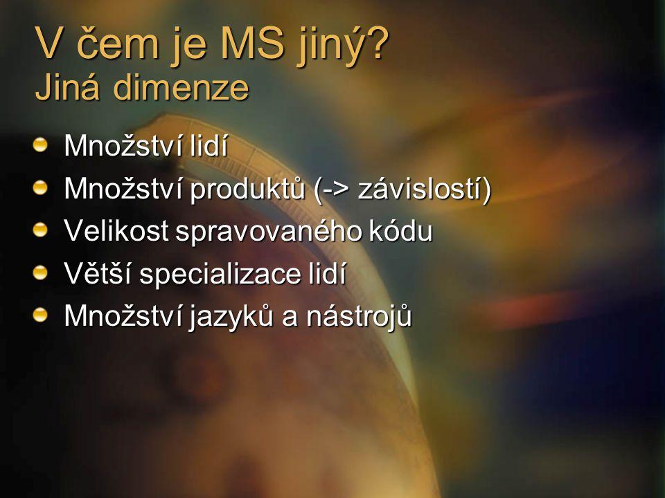V čem je MS jiný.