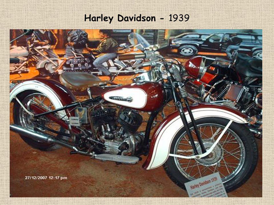 Motocykly Harley Davidson