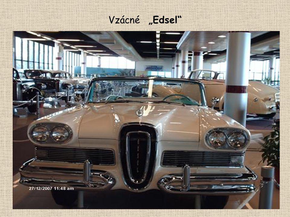 """Vzácné """"Edsel"""