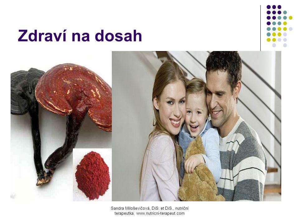 Zdraví na dosah Feffqeaefeqffeesaxc Sandra Miloševičová, DiS. et DiS., nutriční terapeutka, www.nutricni-terapeut.com