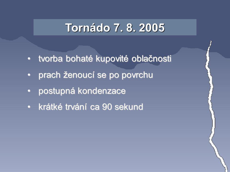 "Tornádo 7.8. 2005 zhodnoceno C. Doswellem: ""..."