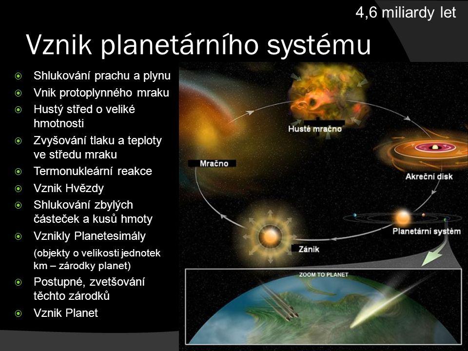 Prahory, starohory (prekambrium)  Vznik fotosyntetizujících organismů (3 mld.
