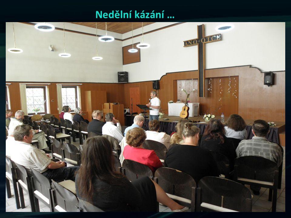 Nedělní kázání …
