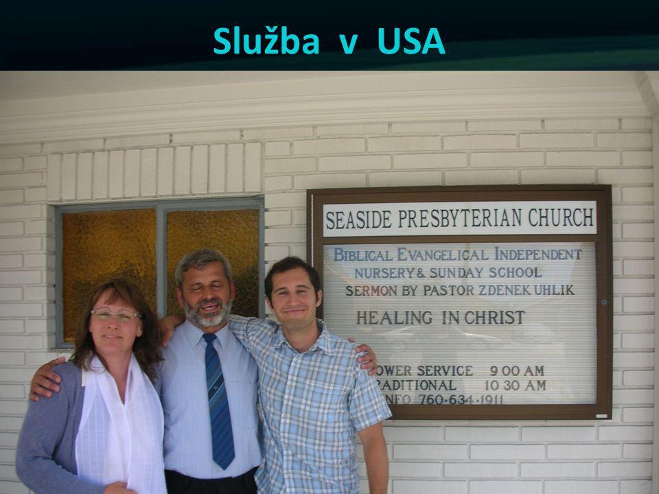 Služba v USA